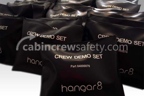 Customisable Flight Attendant Cabin Safety Demonstration Kits for Sale