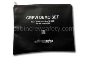 81000004 - Cabin Crew Safety Crew Attendant Safety Demo Pouch
