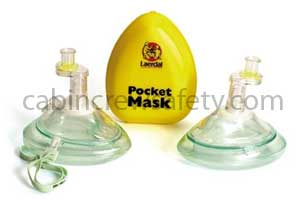 CPR Pocket Mask with O2 Inlet for sale online