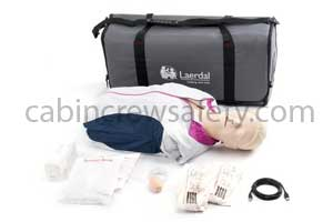 171-00160 - Laerdal Resusci Anne QCPR Manikin Torso in Carry Bag