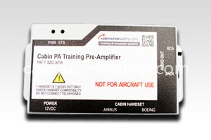 82000018 - Cabin Crew Safety Aircraft Cabin PA Training Amplifier