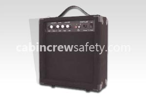 82000026 - Cabin Crew Safety 15 watt mobile amplifier for PA training
