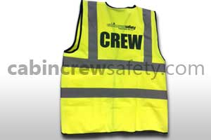 82000027 - Cabin Crew Safety Hi vis cabin crew tabard (10 pack)