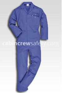 82000028 - cabin crew safety Crew Training Coverall (5 Pk)