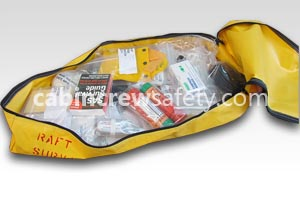 82000035 - Cabin Crew Safety Aircraft Training Slide Raft Survival Kit