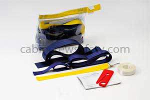 82000041 - Cabin Crew Safety Passenger Restraint Kit with solid hand cuffs