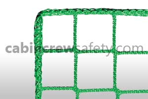Aircraft evacuation slide safety net for sale online
