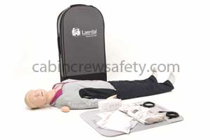 171-01260 - Laerdal Rescusci Anne QCPR full body CPR manikin rechargeable