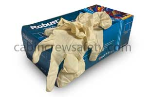 Clear vinyl disposable gloves LARGE box of 100 for sale online