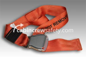 501848-401-1849 - AMSAFE Passenger Extension Belt (Orange)
