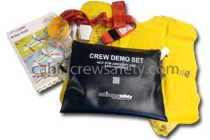 passenger safety briefing kit for training use for sale online