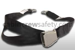 84000024 - Cabin Crew Safety Passenger Seat Safety Belt (Black)