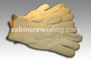 84000025 - Cabin Crew Safety Aircraft Fire Retardant Gloves