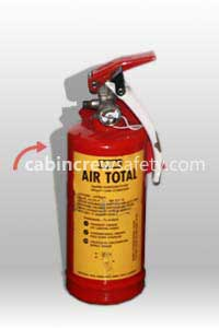 74-20 - Air Total Aircraft BCF Halon Fire Extinguisher