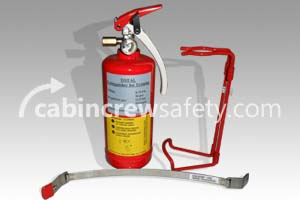 0074-20 - Air Total Training BCF Halon Extinguisher