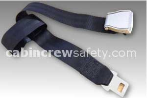 1027-2-011-2396 - AMSAFE Passenger Extension Belt (Black)