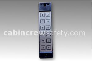 Airbus Style Flight Deck Access Keypad FDAS for sale online