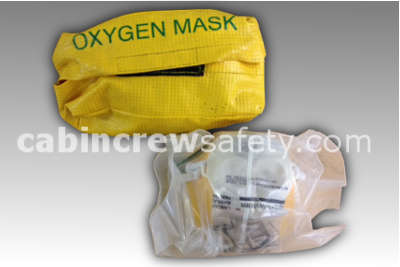 Bayonet fit oxygen mask and valise for sale online