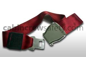 1028-1-021-8005 - AMSAFE Passenger extension belt assembly (red)