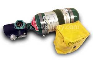 3552CAAAAACXCD - AVOX Small AVOX Portable Oxygen Cylinder 3552 Series