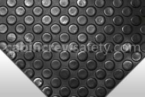 Dot Studded Surface Flooring Black for sale online