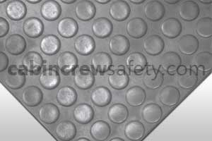 Dot Studded Surface Flooring Grey for sale online