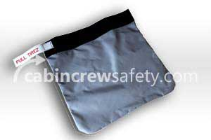 6423-302 - Cabin Crew Safety Training Pouch for Drager Training PBE Smoke Hood