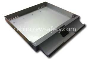 Small ice drawer assembly for service cart for sale online
