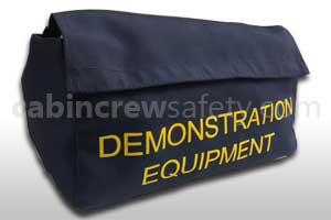 2-50438-2 - Cabin Crew Safety Aircraft Cabin Safety Demo Equipment Pouch