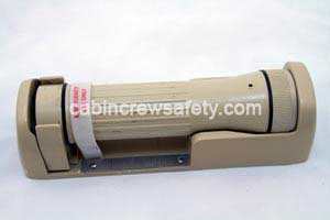 P2-07-0001-214 - DME Astronics EF-1 flashlight and bracket assembly