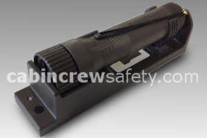 Emergency LED flashlight and bracket for sale online