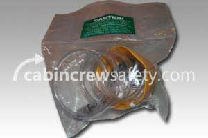 289-601-6 - AVOX Mask Assembly Passenger Oxygen