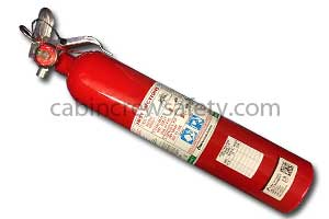476288 - Kidde Aerospace Halotron BRx Portable Fire Extinguisher