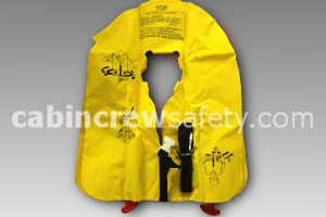 P01074-207D - EAM XF-35 Safety Demo Life Preserver