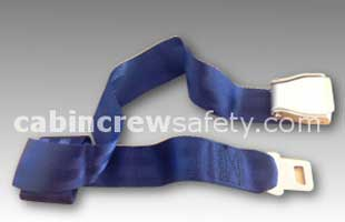502761-411-2428 - AMSAFE Passenger Loop Belt Assembly (Blue)