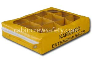 Cabin storage valise for fifteen extension belts for sale online