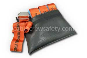 90000264 - Cabin Crew Safety Extension seat belt valise with four extension belts