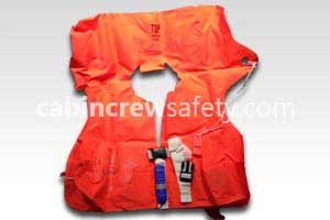 63600-505 - Air Cruisers Crew life preserver with whistle