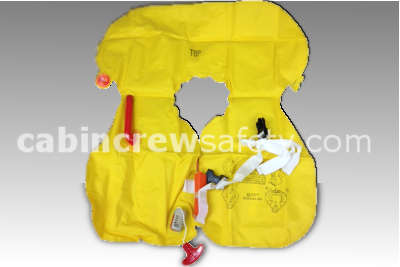 66601-105 - Air Cruisers AC1000 single chamber life preserver with whistle