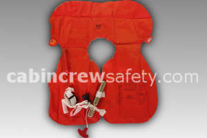 66601-501 - Air Cruisers Single Chamber Crew Life Preserver