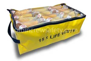 90000195 - Cabin Crew Safety Cabin storage valise for fifteen life vests