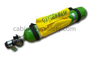 AV2014595 - BE Aerospace Integra Portable Oxygen Cylinder Assembly