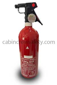 BA22594R-5 - FFE 2.5Kg Portable BCF Fire Extinguisher
