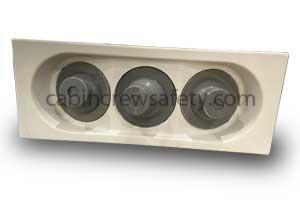 D252-77251-040-00E - Airbus Passenger cabin oxygen gasper panel