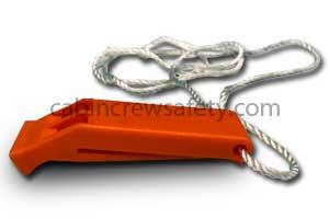 P0028-17 - Eastern Aero Marine Life vest whistle EN394