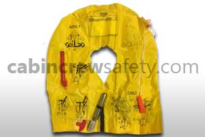 P01202-101WD - EAM UXF35 demo life preserver with whistle