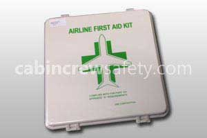 S6-01-0005-311 - DME Astronics Airline First Aid Kit with Mounting Bracket