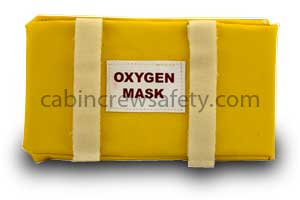 S6-02-0004-001 - Cabin Crew Safety Oxygen Mask Stowage Bag